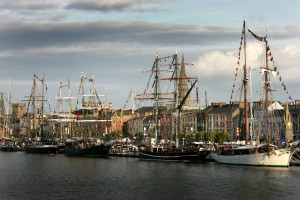Tall Ships on Quayside