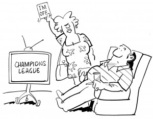 Champions League Cartoon