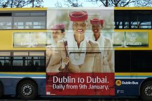 Emirates Bus Side