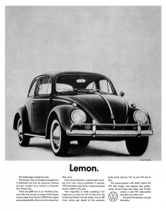 VW Lemon