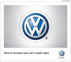 VW NNI April Ad of the Month