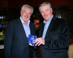 Pat Kenny and John McColgan