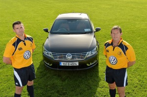 VW sponsors Leinster Refs