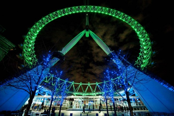London Eye Goes Green
