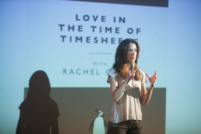 Rachel Carey, IAPI Rant Night