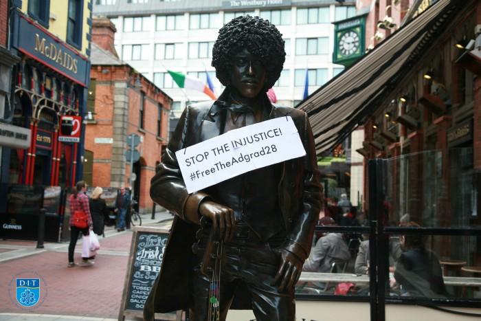 AdGrad 2015 with Phil Lynott Statue