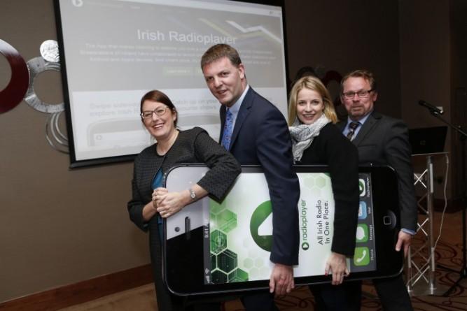 McCann Blue Irish Radio Player App