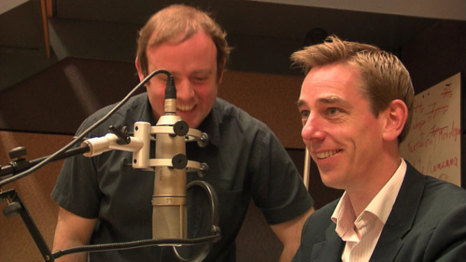 Ryan Tubridy in Studio