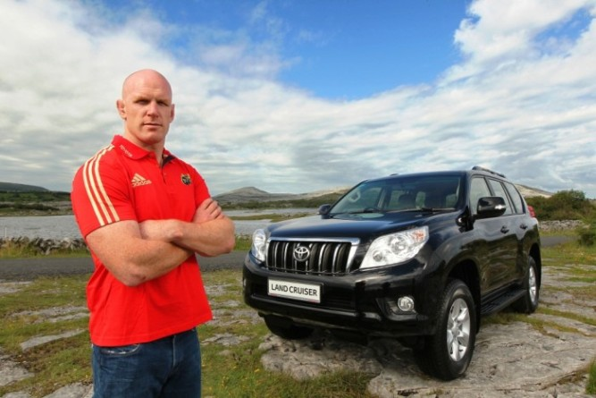 Paul O'Connell, Toyota