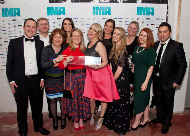 Irish Country Magazine Team Wins at IMA 2015