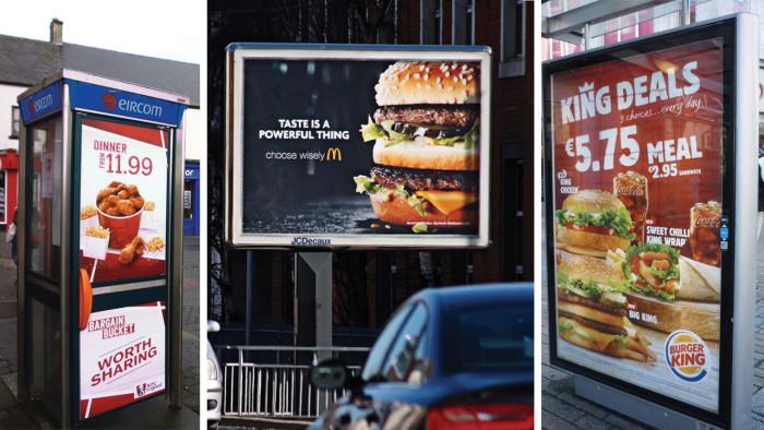 PML Fast Food Posters