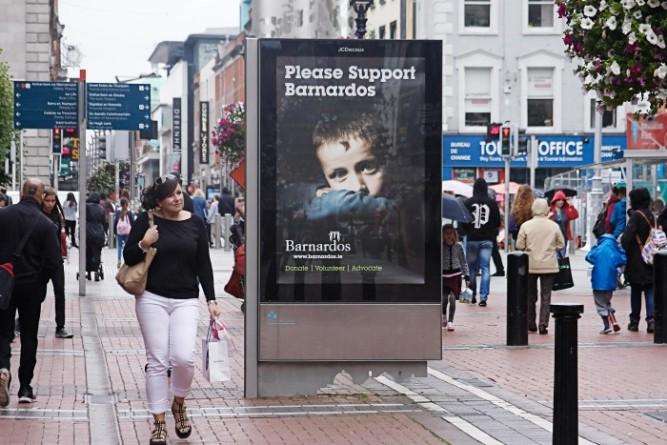 Barnardos Metropanel for JCDecaux