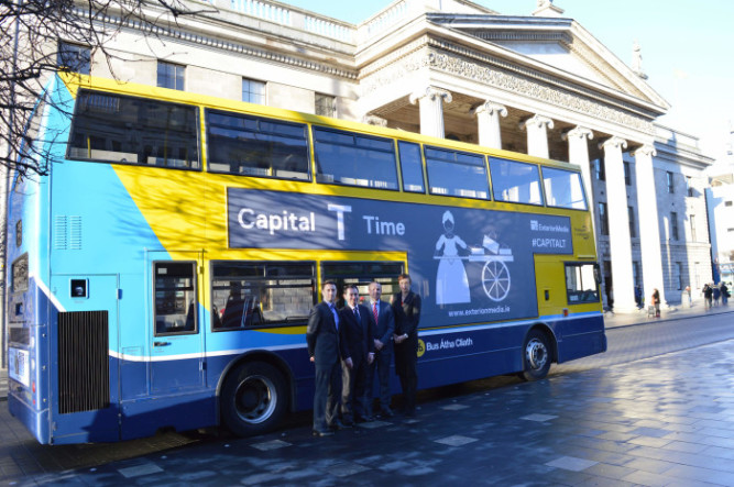 Exterion Media Launches Capital T on Dublin Bus