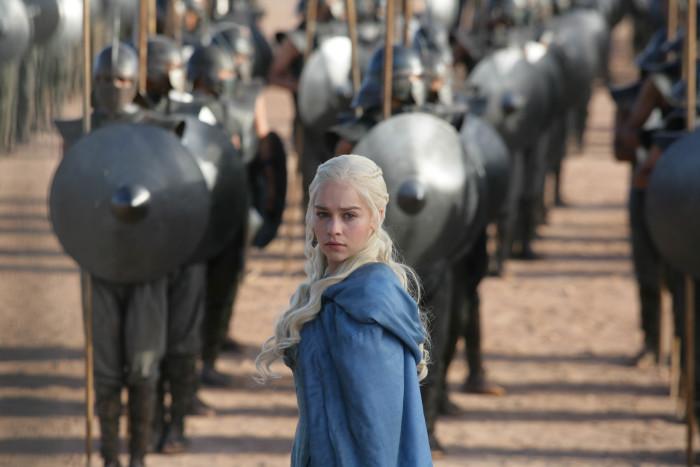 Game Of Thrones, Series 3Featuring Emilia Clarke as Daenerys Targaryen© HBO Enterprises