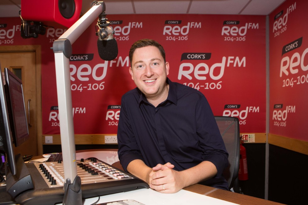 DKANE 29062016 REPRO FREE DJ Ray Foley in the Red Fm Studios. DJ Ray Foley Makes a Return to the Airwaves with CorkÕs Red FMPopular Radio and TV Presenter Ray Foley is making a return to radio this summer with CorkÕs Red FM.Starting on July 2nd Ray Foley will be waking up the people of Cork for a special 12 week series every Saturday between 7am & 10am. An award winning DJ, Ray Foley who is currently a presenter on the 7 OÕclock Show on TV3 is excited about the move saying ÒIÕm delighted to be joining CorkÕs number one radio station! IÕve been a fan of Red FM for many years because theyÕre one of the best radio stations in the country.ÓRay Foley will be very familiar to the people of Cork having presented his very popular self-titled lunchtime show on Today FM for 6 years and also the Irish version of Take Me Out on TV3. Ray Foley will be also be joining his old Today FM colleague at Red FM ÒKC is an old buddy of mine so when he suggested coming on board for Saturday mornings I couldnÕt believe it! Of course I said yesÓ. KC (Keith Cunningham) who is also the programme director was in great humour at the announcement Òafter receiving 600 daily demos from Ray, we have decided that itÕs time to give him a slot. Foley is a super talent on air. Delighted to have him with Corks Number 1 stationÓ.The announcement of Ray Foley comes two years after Neil Prendeville made a move across the city and KC moved back from Dublin, resulting in CorkÕs Red FM becoming the no1 radio station in Cork. Speaking about the latest addition CEO Diarmuid OÕLeary added that ÓCorkÕs Red FM is delighted that Ray Foley is going to be entertaining our listeners on Saturday mornings for the summer Ð we canÕt wait to hear him back on the radio from this weekendÓ.Ray Foley who won 3 Meteor Awards and 5 PPI awards will bring a fresh sound to Saturday mornings in Cork. ÒI've had many brilliant Friday nights out in Cork city, so I should apologise in advance for waking everybody up on Saturday morning. I promise I'll be gentle!Ó he added.The Ray Foley Show on CorkÕs Red FM 104 Ð 106fm starts on Saturday July 2nd at 7am and will run until 17th of September, more details can be found on www.redfm.iePic Darragh Kane