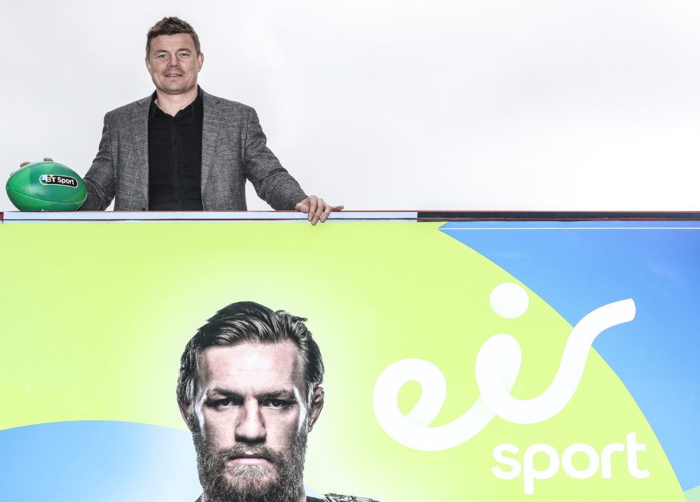 REPRO FREE***PRESS RELEASE NO REPRODUCTION FEE*** Launch of eir Sport, Dublin 5/7/2016 Introducing eir Sport, a new name in Irish Broadcasting.  Ireland's largest telecommunications company, has launched eir Sport and the eir Sport Pack, offering six channels of the best live sporting content from Ireland and around the world. The channels that make up the eir Sport Pack are eir Sport 1 and eir Sport 2; BT Sport 1, BT Sport 2, BT Sport Europe and BT Sport ESPN. The eir Sport Pack is now free to all existing and new eir broadband customers. Customers can access this content via their TV platform or the device of their choice. This equates to €300 of value free to every eir broadband customer. Pictured today BT Sport pundit Brian O'Driscoll Mandatory Credit ©INPHO/Dan Sheridan