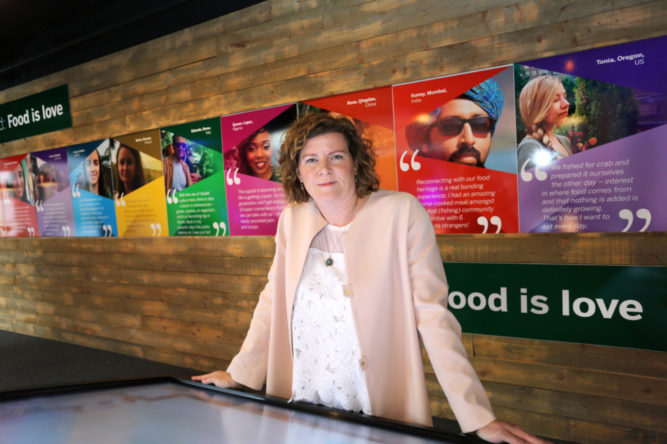 """NO REPRO FEE - BUSINESS - 28/09/2016 -Bord Bia launches state-of-the-art Consumer Research Centre - Pictured is Helen King, Director of Consumer Insight, Bord Bia at the launch of Bord Bia's state-of-the-art Consumer Research Centre """"The Thinking House"""" located at its headquarters in Dublin today. IrelandÕs food, drink and horticulture industry will for the first time enjoy unrestricted access to the latest global trends, research, consumer insights and industry innovations thanks to this new integrated, market insight centre. (NO FEE FOR REPRO) Credit Gary O' Neill."""