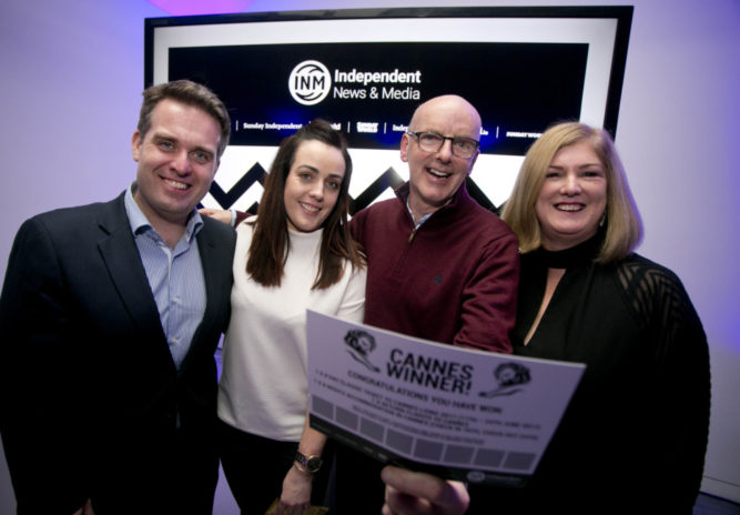 INM Media Event. Celebration of the Power of Print. Chris Bellew / Copyright Fennell Photography 2016