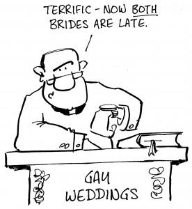 Same Sex Couples Cartoon
