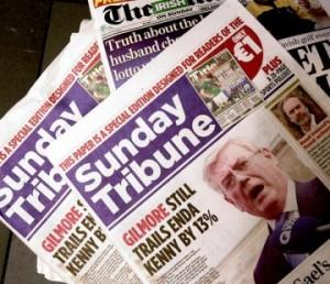 Mail Sunday Tribune Cover