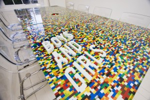 Boys and Girls Lego Table