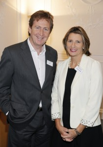 Marketer of the Year 2011 Loretta Dignam with JP Donnelly, Ogilvy
