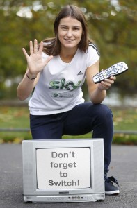 Katie Taylor Sky Digital Switchover
