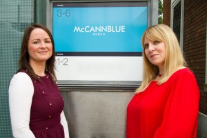 Nuala-Anne Curley and Jenny Paetzold, McCannBlue