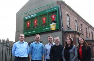 Carlsberg Liverpool OOH