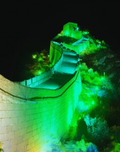 THE GREAT WALL OF CHINA TO BECOME THE 'GREAT GREEN WALL' –