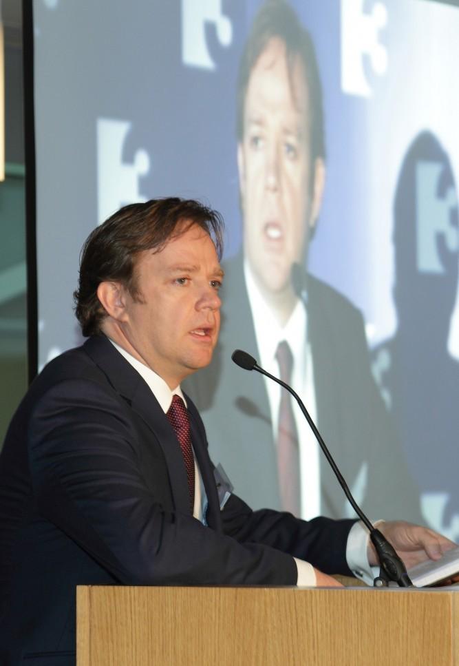 Pat Kiely at TV3 Conference