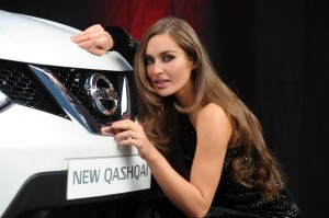 Nissan Qashqai and Roz Purcell