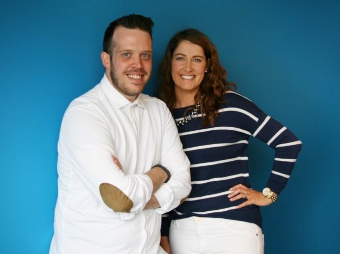 Chris Cashen and Ciara St Lawrence at Carat