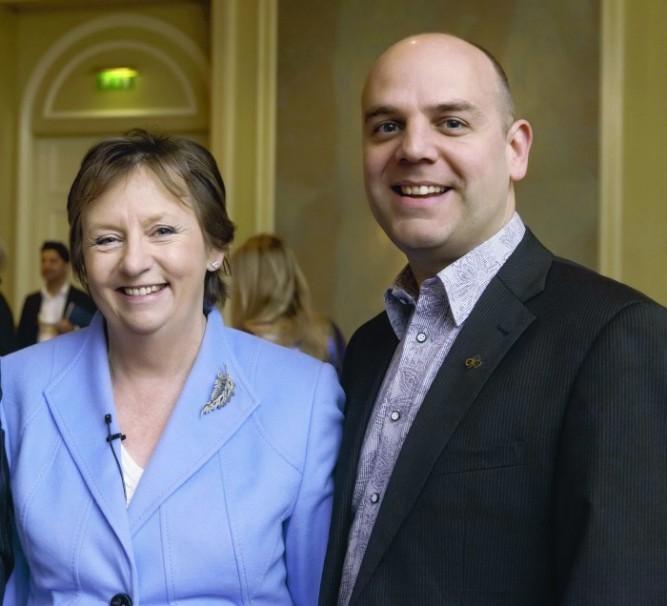 Mary Lambkin, UCD and Mark Henry Tourism Ireland