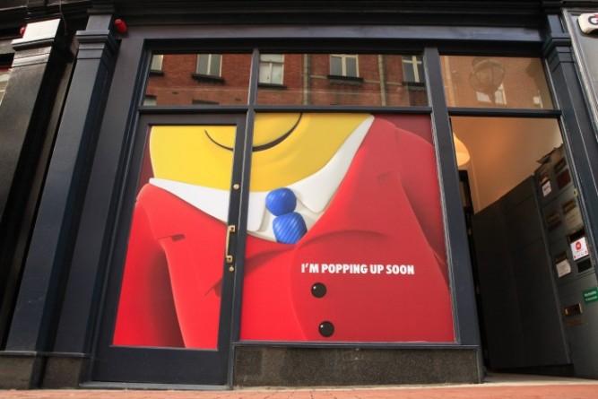 Mr Tayto Pop Up Shop Front