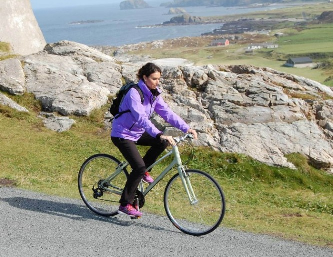 Christine Bleakley on UTV Ireland's Wild Atlantic Way
