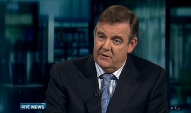 Bryan Dobson, RTE News
