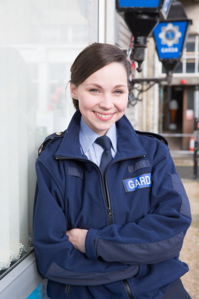 Red Rock's Jane McGrath as Garda Sharon Cleere