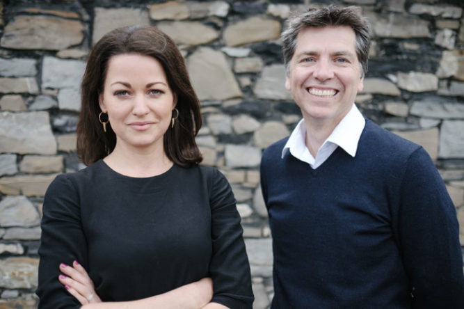 Pictured, Celine Dee and Simon Richards, Co-Founders of RichardsDee