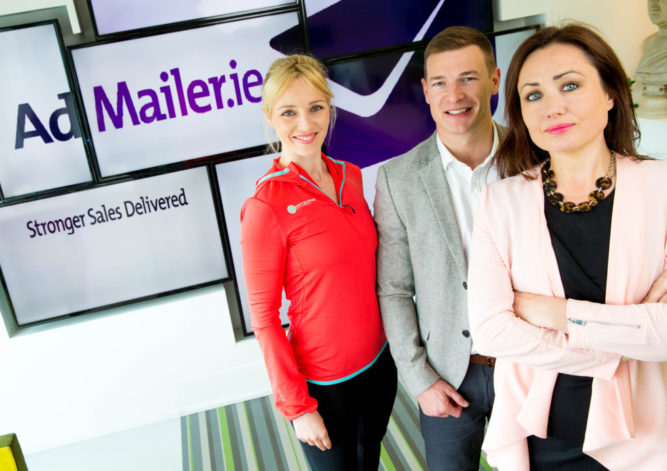Entrepreneurs Gather for Launch of An Post's Innovative Admailer 2.0 Hi-tech Tool Aims to Transform how Irish businesses market their products Wednesday 13th July: Business bright sparks Siobhan Byrne of BodyByrne, Brian Lee of Chopped alongside Fiona Heffernan, Head of Post Media, An Post are pictured at the launch of An Post's Admailer.ie 2.0 that's set to disrupt and transform the way Irish small businesses market their products.  There is already international interest in this all Irish innovation from An Post from postal services in markets as far afield as Canada and Australia.  Admailer.ie will allow them to create their own direct marketing campaign in minutes by accessing An Post data to pinpoint target audiences using enriched data, and market directly to them.  Along with highly targeted customer information, Admailer.ie 2.0 will allow businesses to design efficient and effective direct marketing campaigns, all via the Admailer.ie site.   ***NO FEE** Photography: Conor Healy Photography 