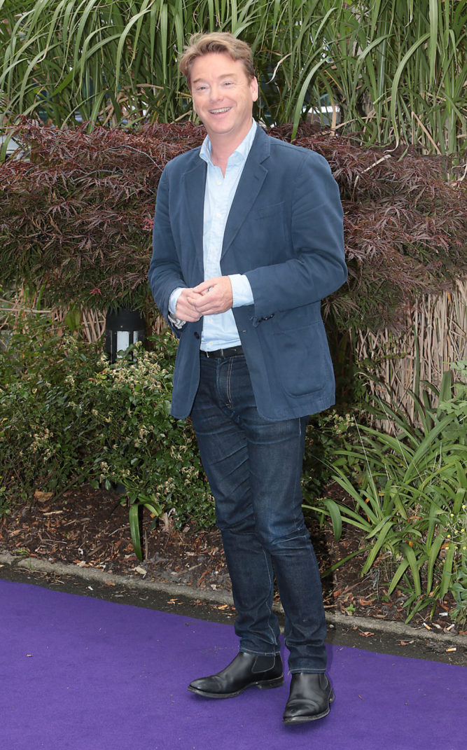 David McWilliams at Tv3's Autumn 2016 launch at The National Concert Hall, Dublin. Pictures:Brian McEvoy No Repro fee for one use